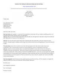 Sample Cover Letter Word Sarahepps Com