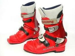 Details About Scarpa Nordic Telemark 3 Pin Ski Boots Mondo 26 Mens Us 8