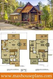Cool Small Cabin Designs Small Cabin Home Plan With Open Living Floor Plan House