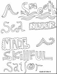 Free Printable Coloring Pages For Adults Quotes Hard Inspirational
