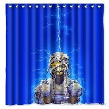 shower curtains sizes iron maiden lightning energy light design shower curtain size x cm custom waterproof