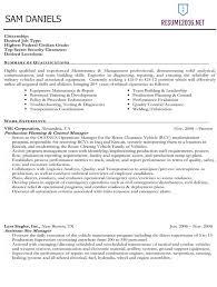 federal resume .