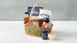 the busy baker gift basket