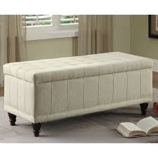 Leather Storage Bench Bedroom Darby Home Co Attles Fabric Bedroom Storage Bedroom Bench