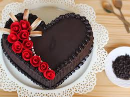 Heart Shaped Choco Truffle Cake Dark Magic Cake Bakingo