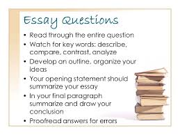 test preparation test taking strategies and test anxiety pass  6 essay questions through the entire