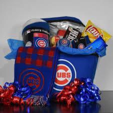chicago cubs fan gift basket