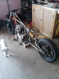 built chopper frame