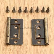 antique design jewelry gift wooden box cabinet hinges chest wardrobe door hinge