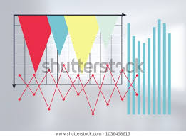 Digital Composite Chart Statistics Information Bright