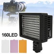 Giảm 32 %】 Camera Quay Phim cho HD-160 L ĐÈN LED Video Chụp Ảnh Đèn