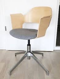 scandinavian office chairs. Beautiful Scandinavian Style Wood Office Chair Chairs