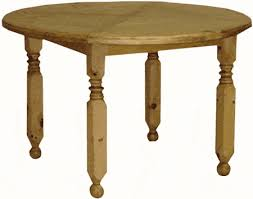 round rustic pine dining table and within prepare 11