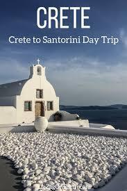 crete to santorini day trip