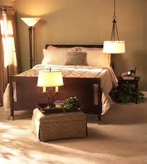bedroom master bedroom lighting ideas with wooden bed hanging lamp with stand lamp master bedroom
