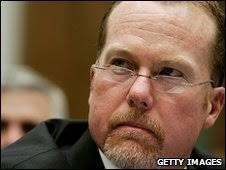 Mark McGwire at Congressional hearing in 2005. Mr McGwire refused to discuss drug use at a Congressional hearing - _47090167_008525005-1