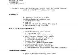 Simple Resume Examples For College Students Download Simple Resume ...