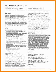 About Me In Resume Amazing 6021 Cv About Me Examples Example Sales Manager Resume Sample Ideal Plus
