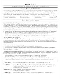 New Hire Orientation Hr Generalist Resume Sample Examples Template ...