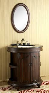 bathroom cabinets furniture modern. Unique Faucet In Small Sink Ideas And Antique Cupboard Furniture With Round Wall Mirror Design Bathroom Cabinets Modern