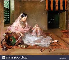 francesco renaldi muslim lady reclining 1789 oil on canvas yale center for british art new haven usa