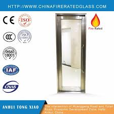 china white internal fire doors with glass panels china fire rated glass doors fire rated doors with glass