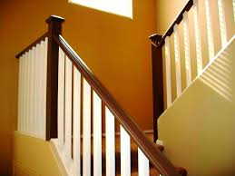 wood stair railings and banisters 1