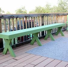 bench plans build patio