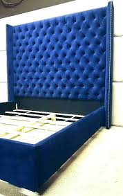 tall tufted headboard king. Delighful Headboard Headboards Tall King Headboard Items Similar To Royal Blue Extra In  Tufted Idea  For Tall Tufted Headboard King A