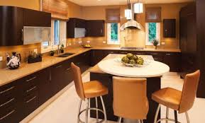 residential kitchen with clean modern look