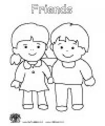 Small Picture friendship coloring pages for preschool Friendship Coloring