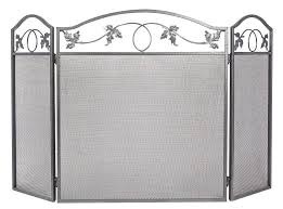 amagabeli 3 panel large fireplace screen doors and screens fire place cover baby proof safety gate