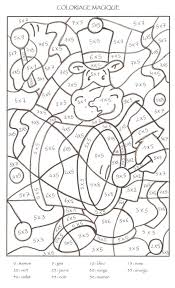 Coloriage Magique Cp Colorier Dessin Imprimer Enjoy Math