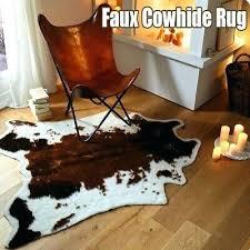 faux cowhide rug soft faux cowhide rug cow print rug living room tile lounge room office faux cowhide rug