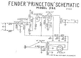 fender 5f2 schematic fender automotive wiring diagram printable fender pro reverb amp aa165 sch service manual