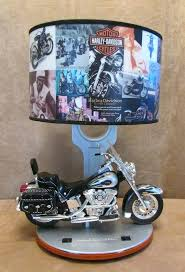 harley davidson table lamp motorcycle heritage table lamp desk nightlight sounds harley davidson midnight chrome pool table light