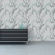 Genial Trippy Charcoal Large Removable Wallpaper Temporary Wallpaper  Apartment ...