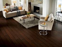 Dark Laminate Gives A Hardwood Look At A More Affordable Price