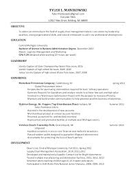 Sample Resume Of Business Analyst Business Analyst Resume Example
