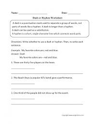 exquisite punctuation worksheets dash substitution worksheet tes or h substitution worksheet worksheet large