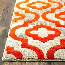 orange and gray area rug distressed blue burnt orange area rug and grey rugs porter deasia