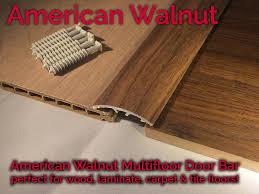 dural multifloor door bar threshold strip laminate floor 0 9m american walnut 1 of 6free see more