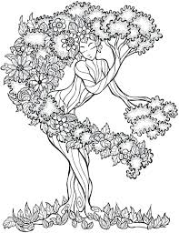 coloring book tree pictures best color me zen trees images on books keep calm and tranquil publications pages disney
