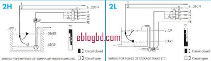 float switch how it works Float Level Switch Wiring Diagram how float switch works 3 Wire Float Switch
