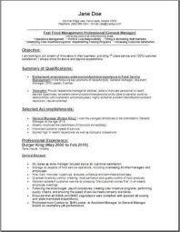 fast food job description for resume template fast food cashier fast food cashier resume