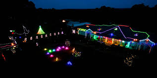 Image Gooseneck Party Delights Christmas Light Display Delights In Competition