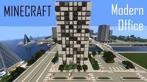 modern office building. Minecraft Modern Office Building 3 (full Interior) + Download