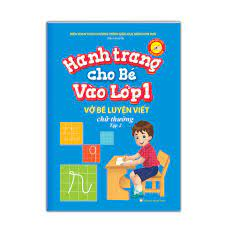 Sách - Hành trang cho bé vào lớp 1 – Vở bé luyện viết chữ thường tập 2