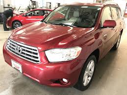 2009 Used Toyota Highlander 4WD 4dr V6 Limited at East Madison ...