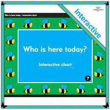 Who Is Here Today Interactive Chart
